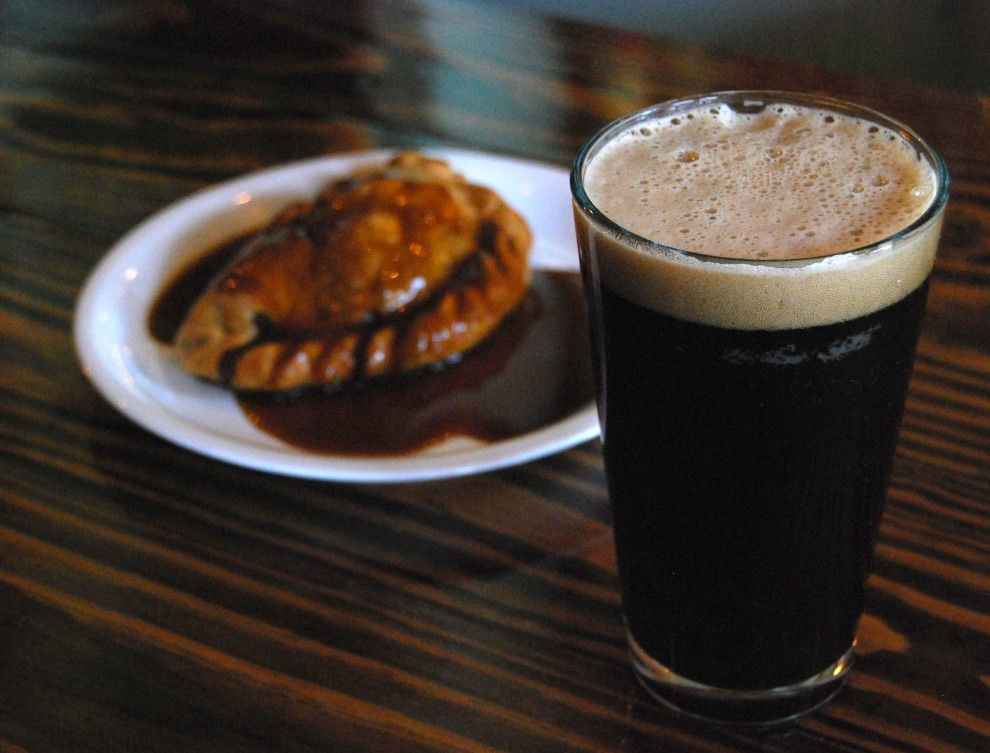 dry stout pasty